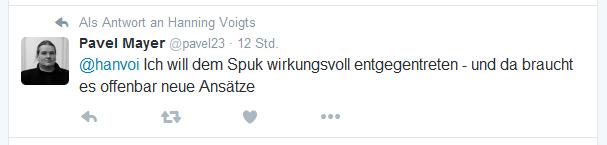 Tweet von Pavel